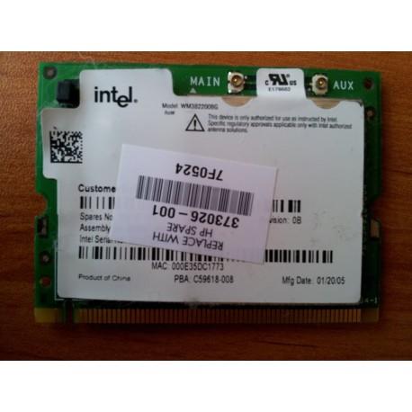Hewlett-packard Mini PCI Intel Pro/ Wireless 2200BG 802.11B/ G WLAN card - 373026-001
