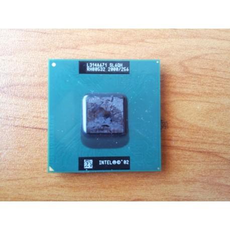 Intel Celeron M 2.00 GHz, 256K Cache, 400 MHz FSB