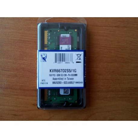 Kingston DDR2 1GB 666MHz 5300S