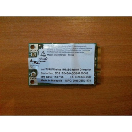 Carte WIFI Intel 3945BG - - WM3945ABG